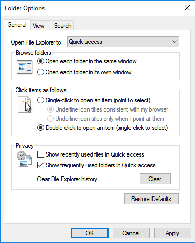 Cara Menghilangkan Quick Access Di Windows 10