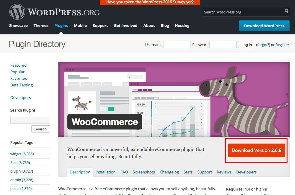 download plugin woocommerce