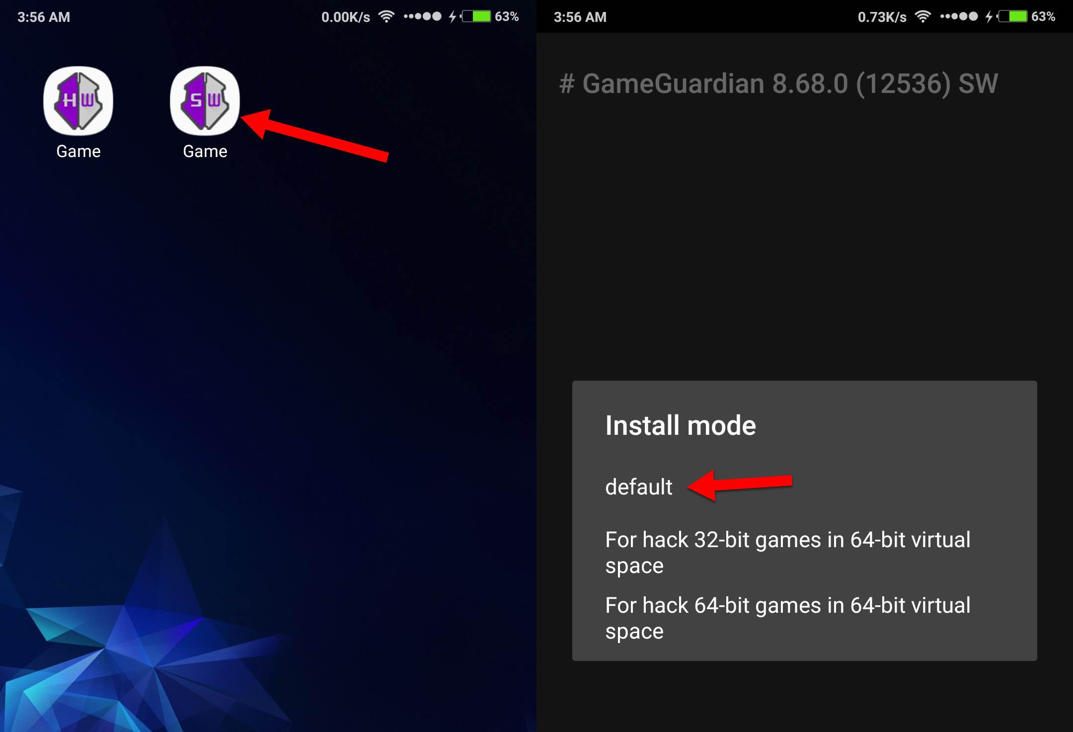 cara install Gameguardian no root