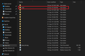 Cara Membuat Folder Dengan CMD di Windows